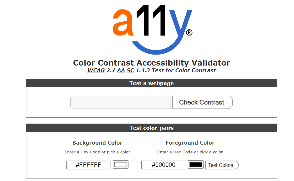 Accessibility viewer a11y