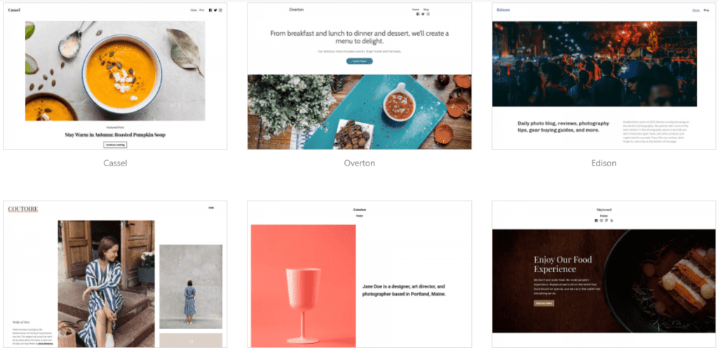 WordPress accessible themes