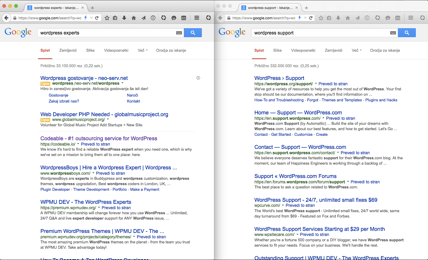 how do i get on the first page of google keywords ranking