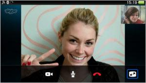 Skype call