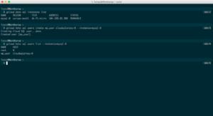 MySQL user creation