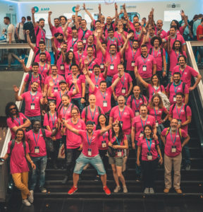 Codeable at WCEU 2018 in Belgrade #pinkarmy